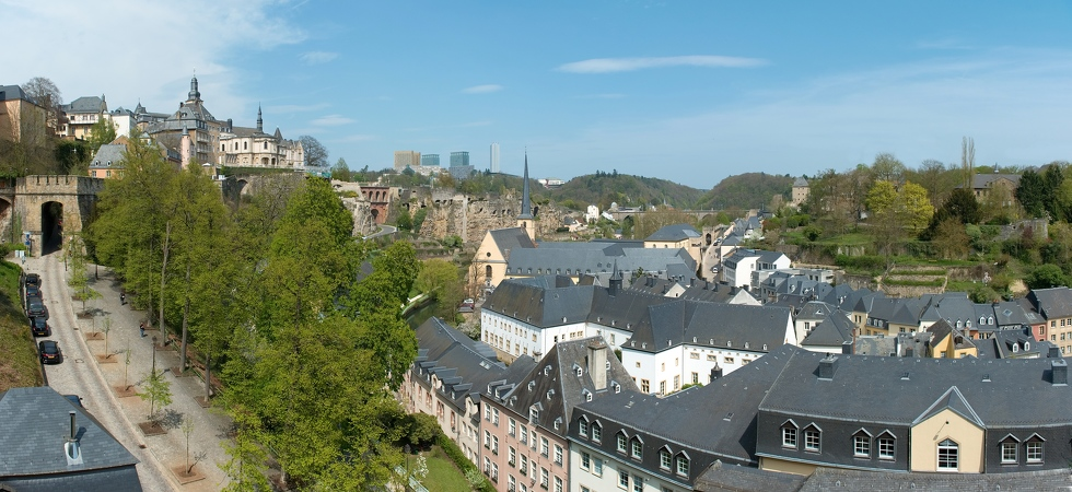 Luxembourg ville pano