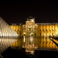 Le Louvre Paris By Night 1