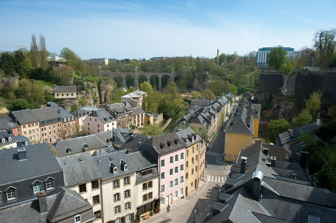 Luxembourg ville B 1